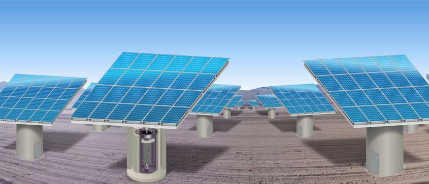 ⚡️ Voss : du béton pour stocker à faible coût de l'énergie solaire