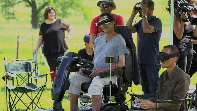 🛩♿️ HandiDrone, le 1er programme d'initiation au pilotage de drones en immersion destiné aux personnes handicapées