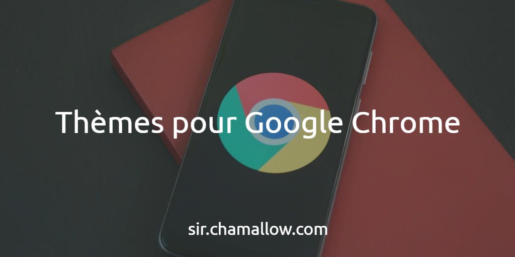 Thèmes pour Google Chrome
