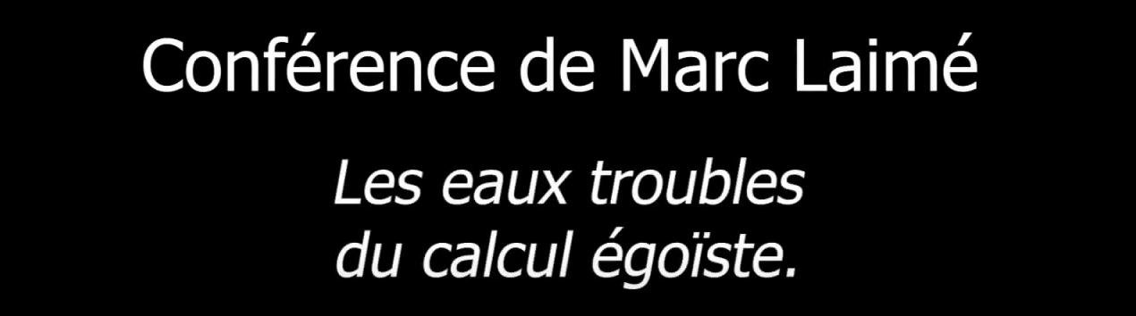 [Conférence] Menaces sur la gestion de l'eau en France